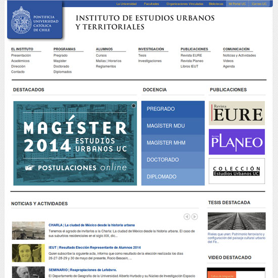 IEUT Universidad Católica de Chile